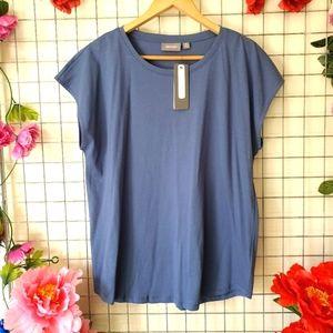 SUSSAN   Steel Blue   T- shirt   100% Australian Cotton   NWR   RRP $29.95